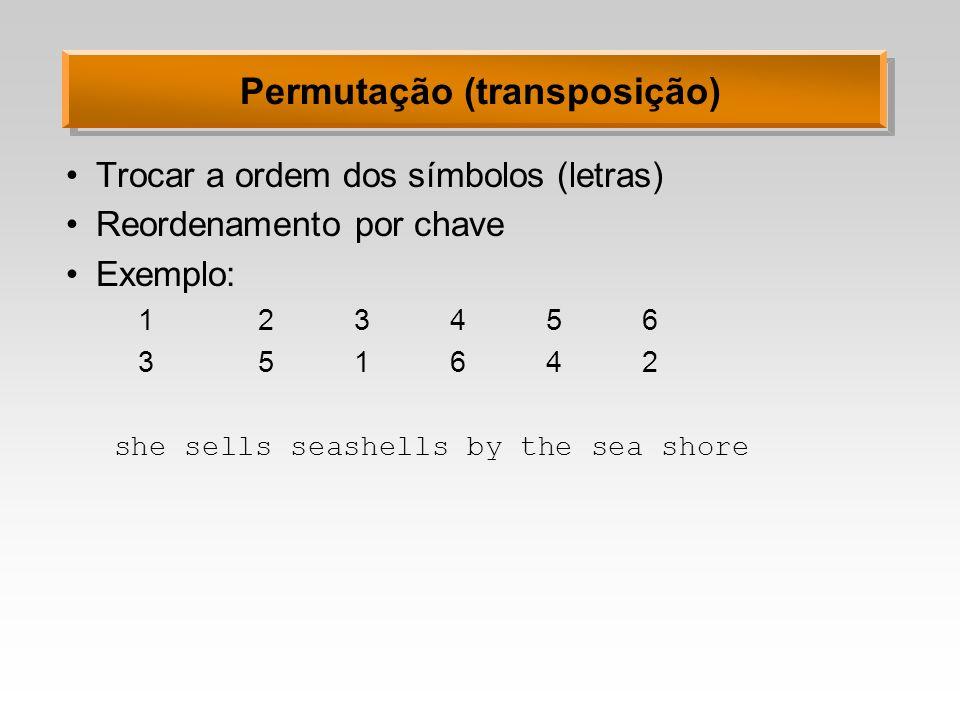 Permutação (transposição)