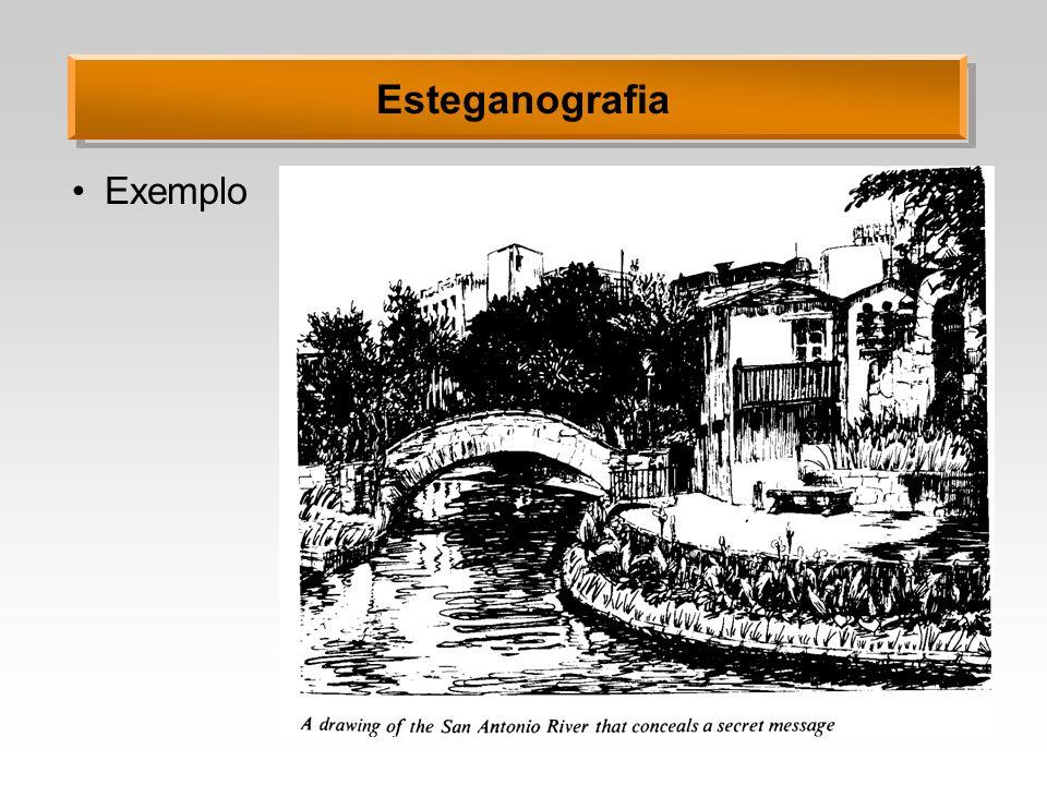 Esteganografia Exemplo
