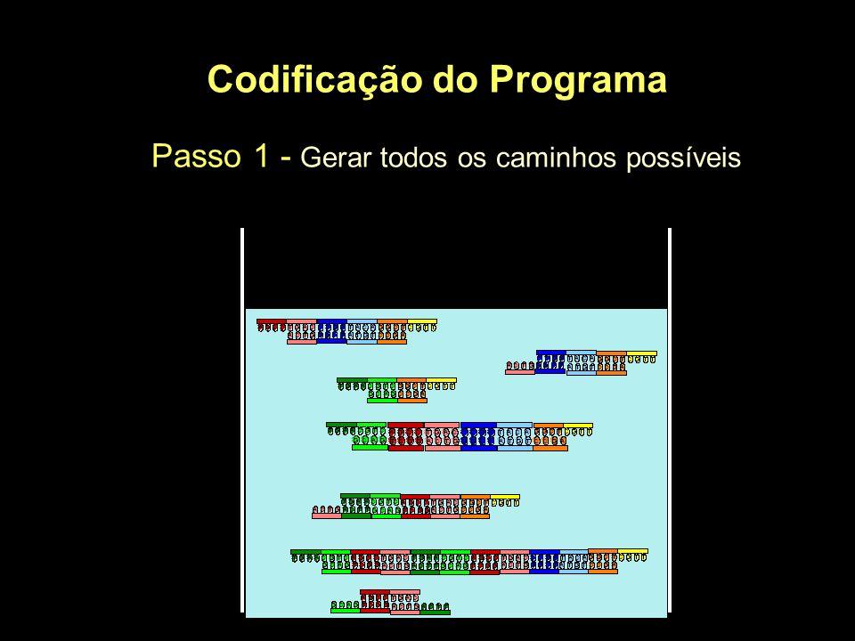 Codificação do Programa