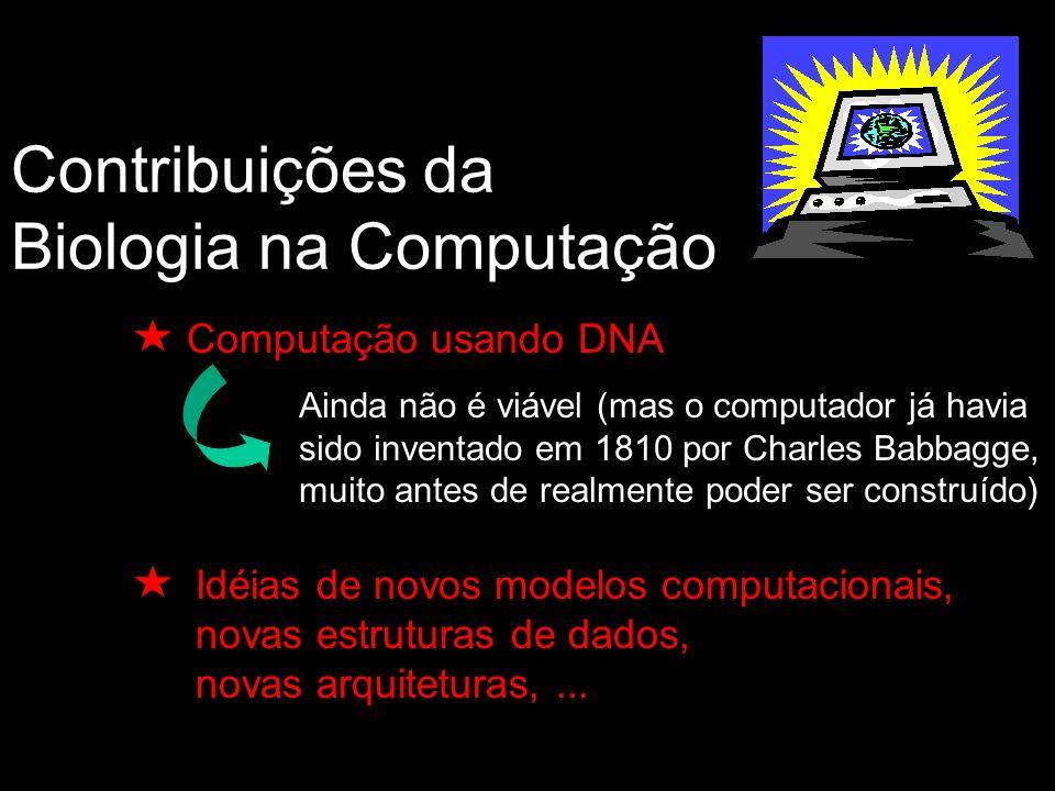 Contribuições da Biologia na Computação