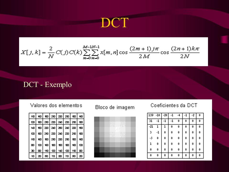 DCT DCT - Exemplo