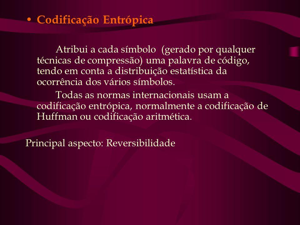 Codificação Entrópica