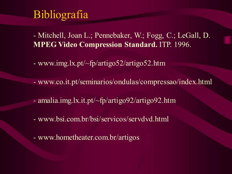 Bibliografia - Mitchell, Joan L.; Pennebaker, W.; Fogg, C.; LeGall, D.