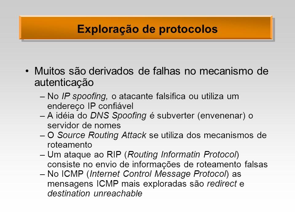 Exploração de protocolos