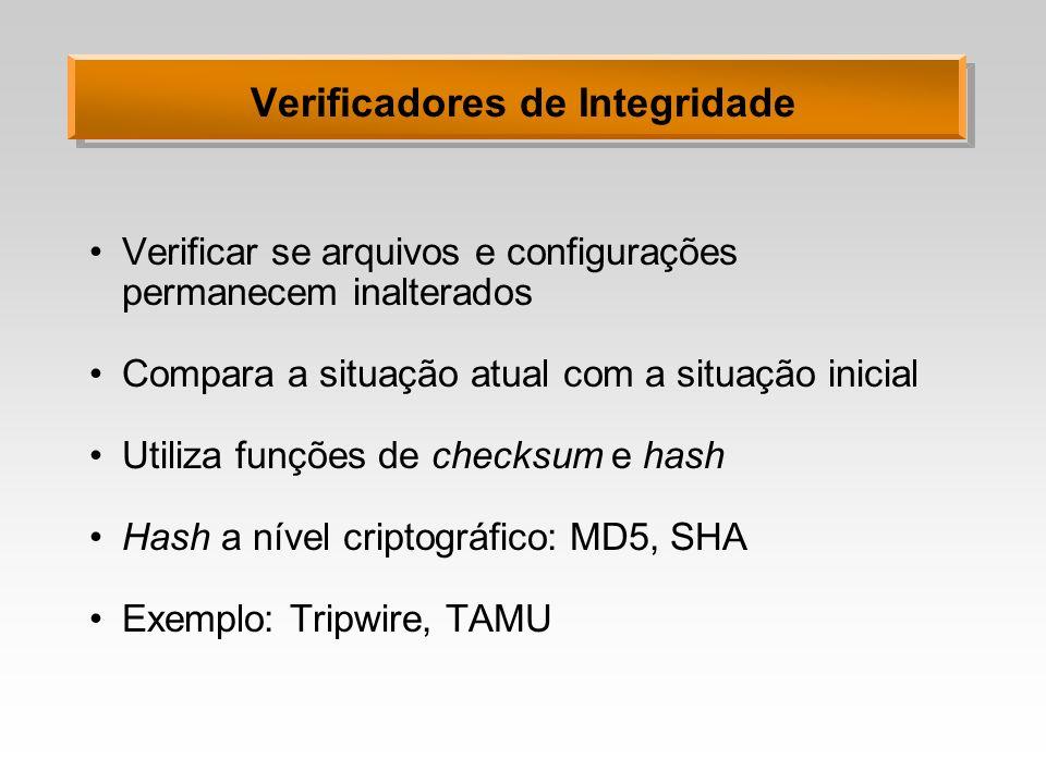 Verificadores de Integridade