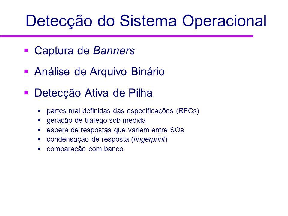 Detecção do Sistema Operacional