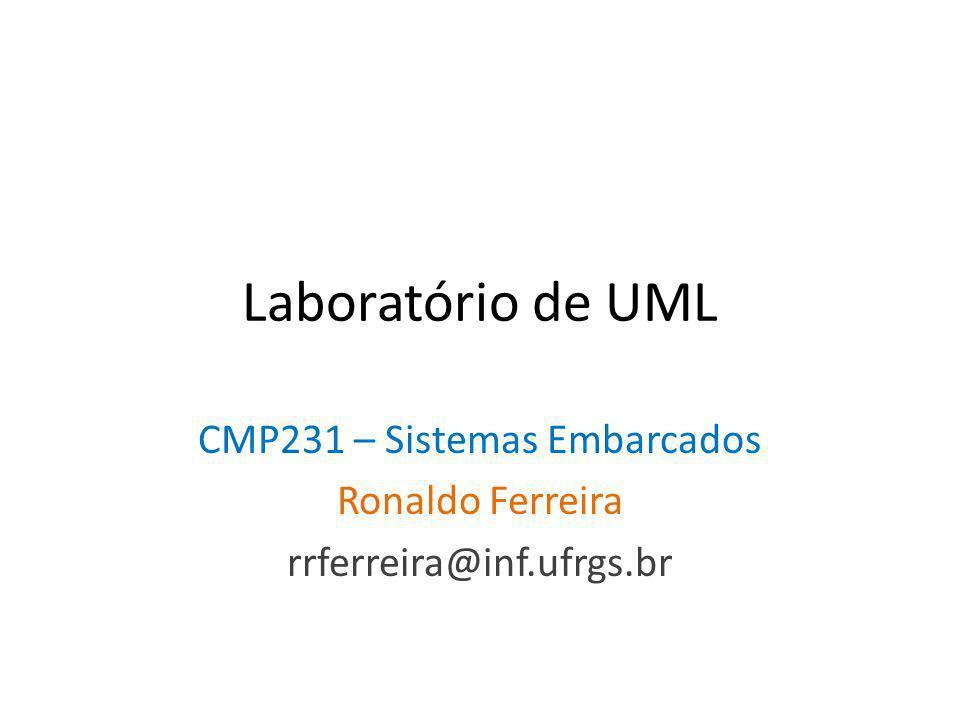 CMP231 – Sistemas Embarcados Ronaldo Ferreira rrferreira@inf.ufrgs.br
