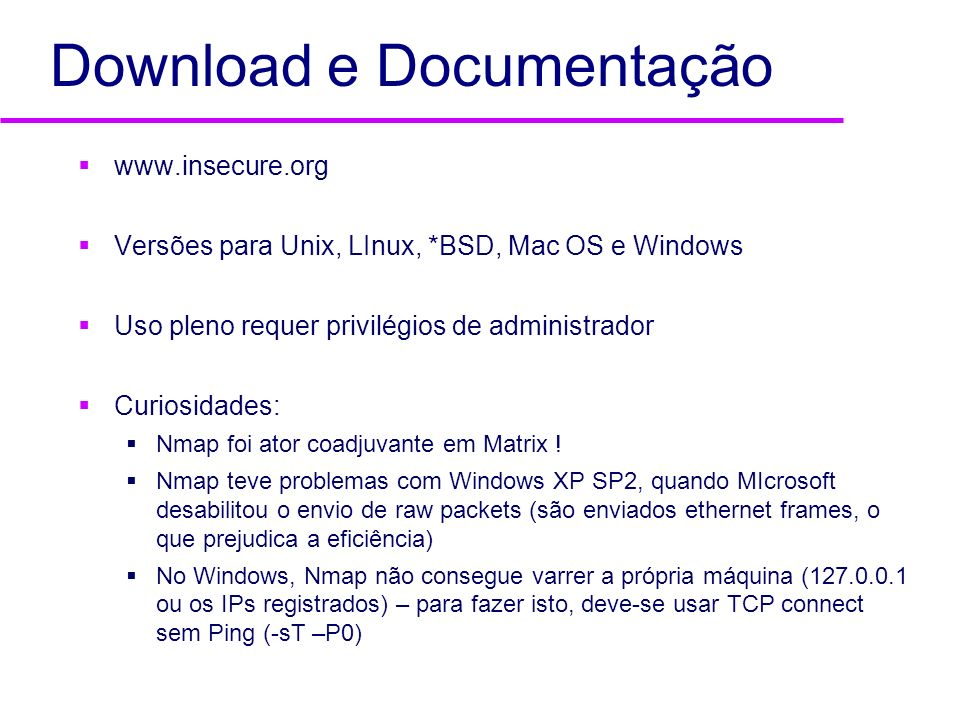 Download e Documentação