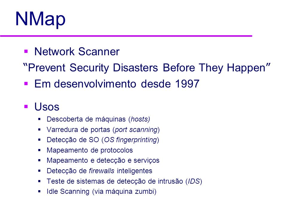 NMap Network Scanner Prevent Security Disasters Before They Happen