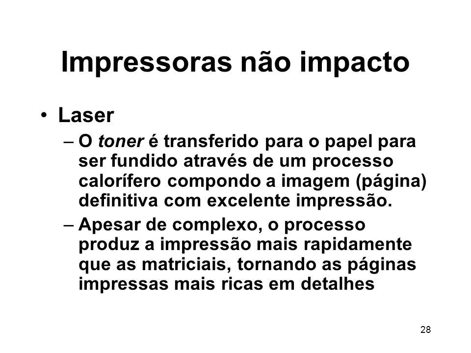 Impressoras não impacto