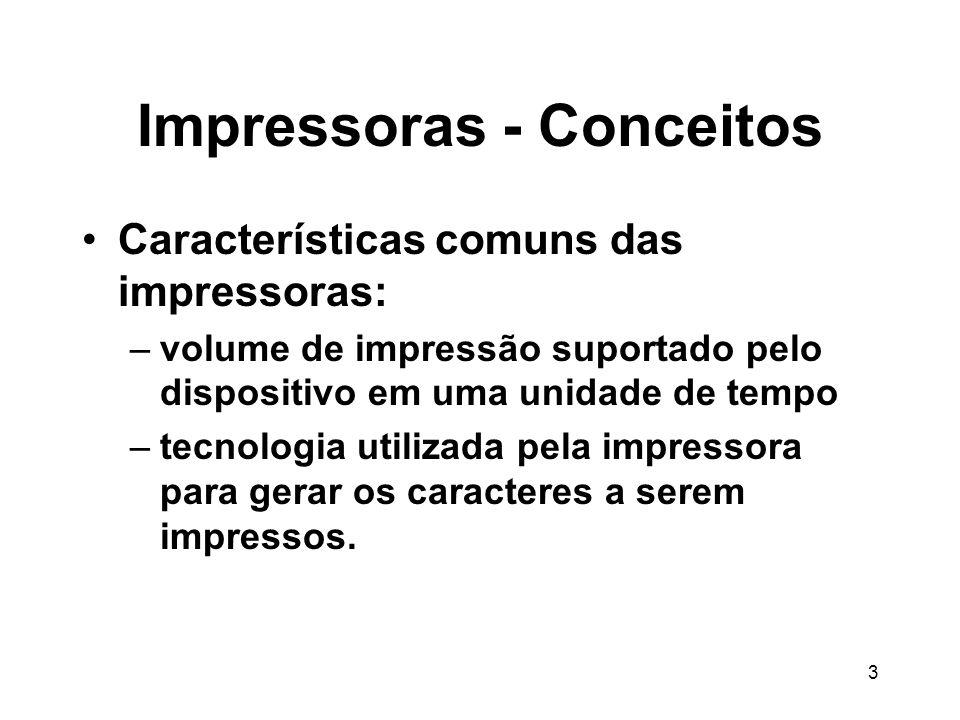 Impressoras - Conceitos