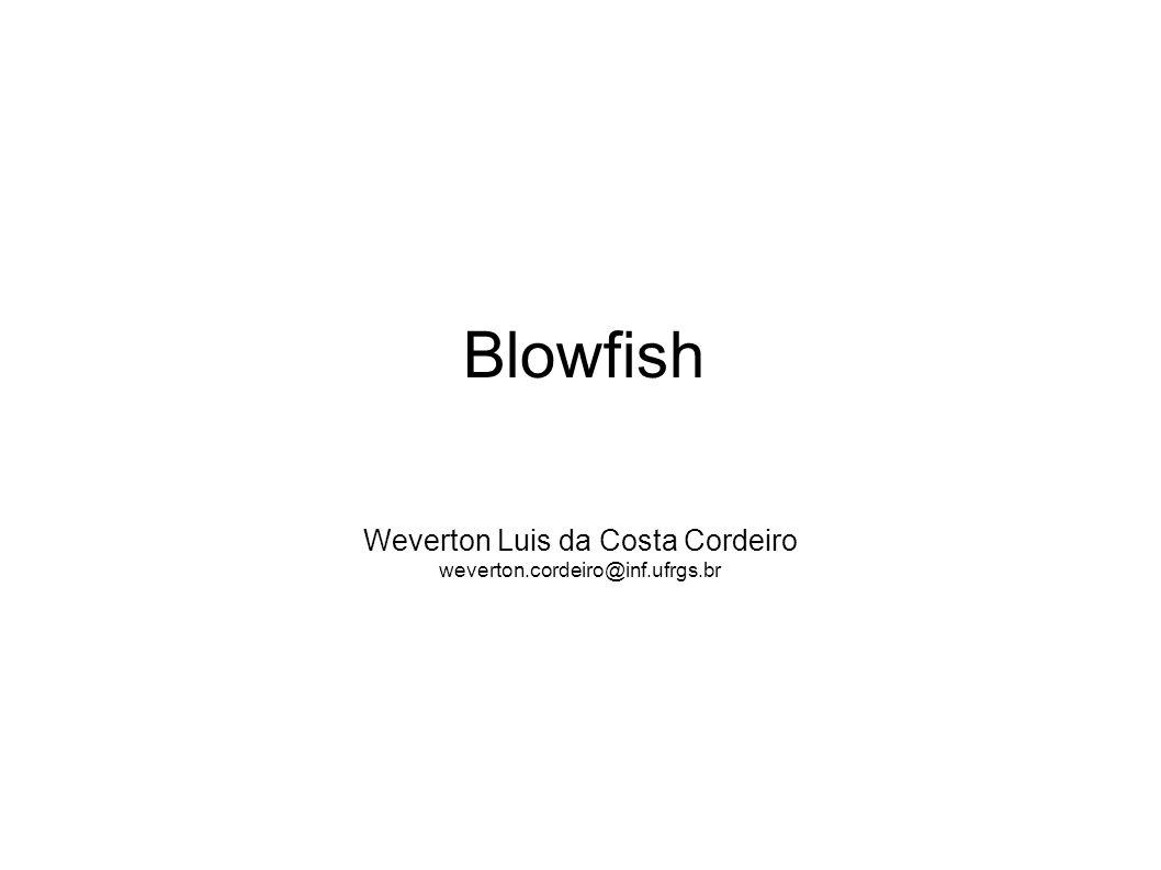 Weverton Luis da Costa Cordeiro weverton.cordeiro@inf.ufrgs.br