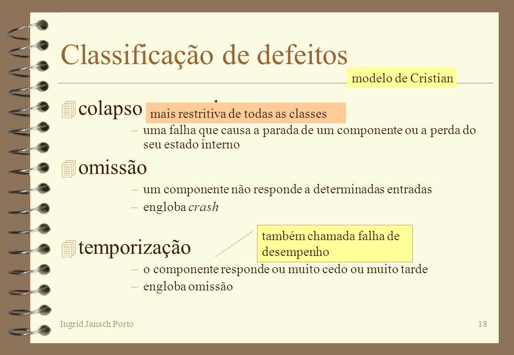 Classificação de defeitos