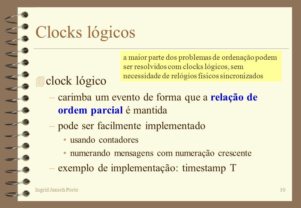 Clocks lógicos clock lógico