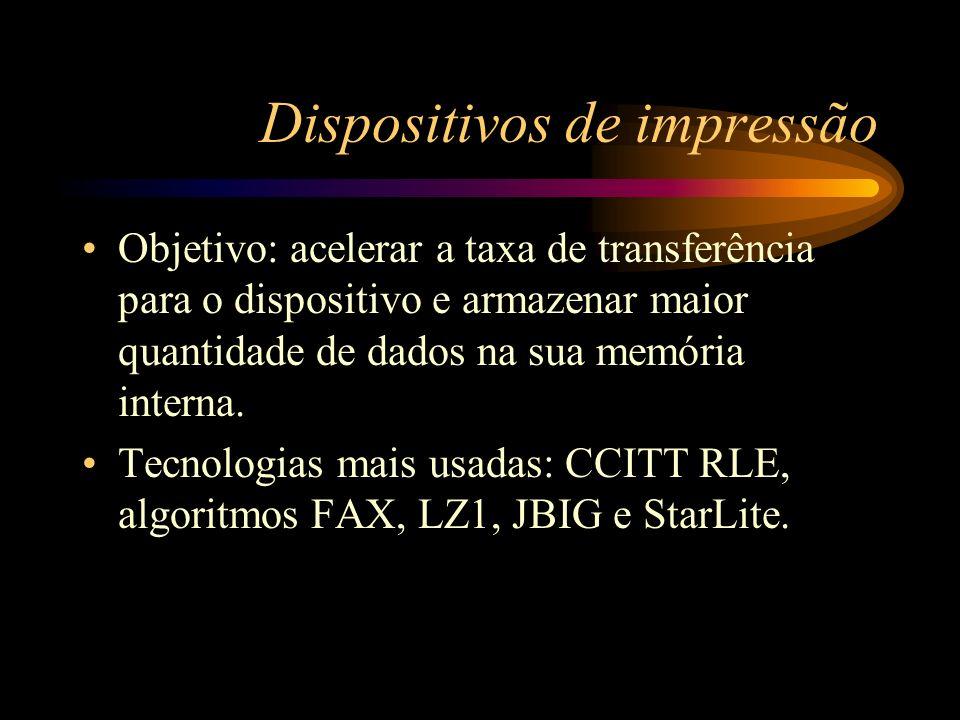 Dispositivos de impressão