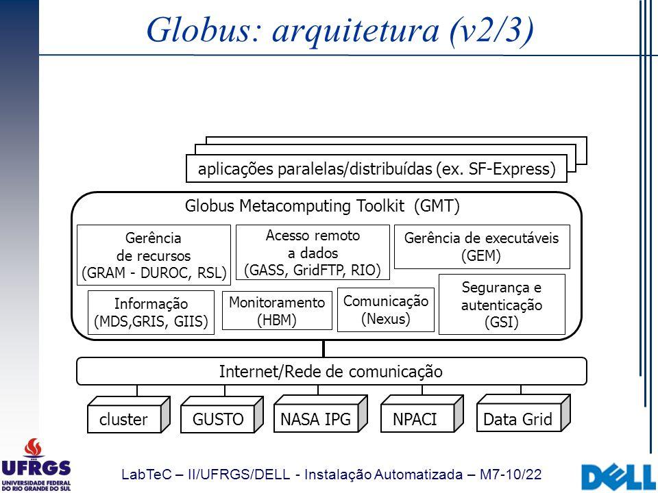 Globus: arquitetura (v2/3)