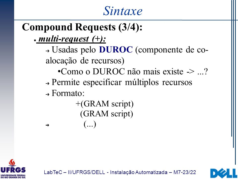Sintaxe Compound Requests (3/4): multi-request (+):