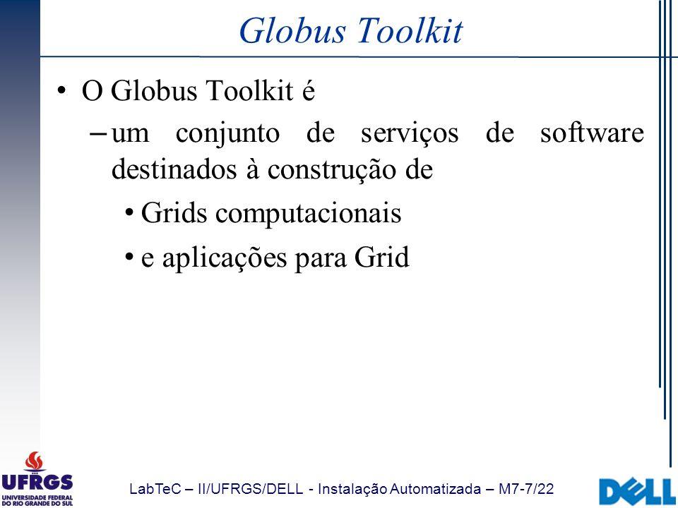 Globus Toolkit O Globus Toolkit é