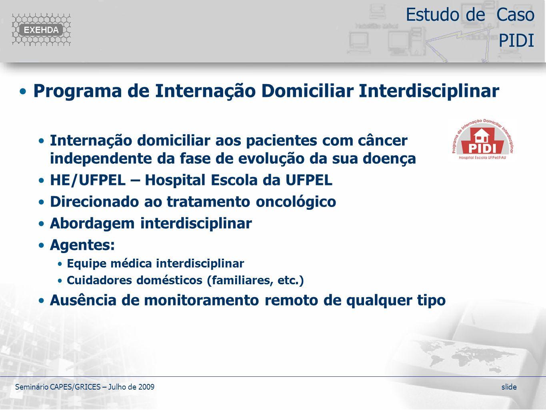 Programa de Internação Domiciliar Interdisciplinar