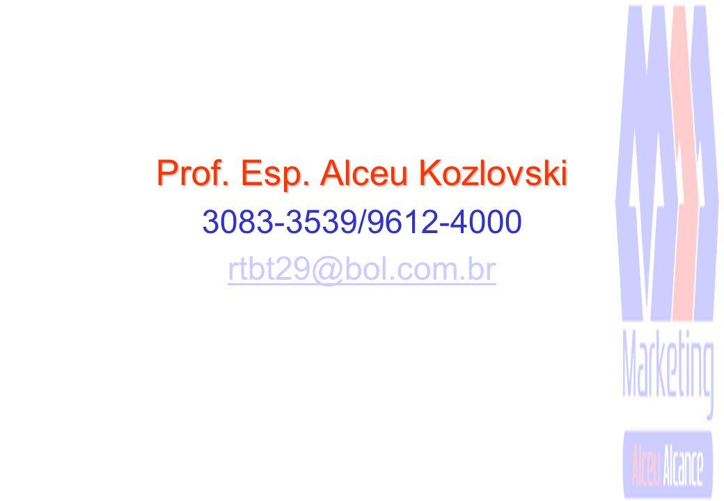 Prof. Esp. Alceu Kozlovski
