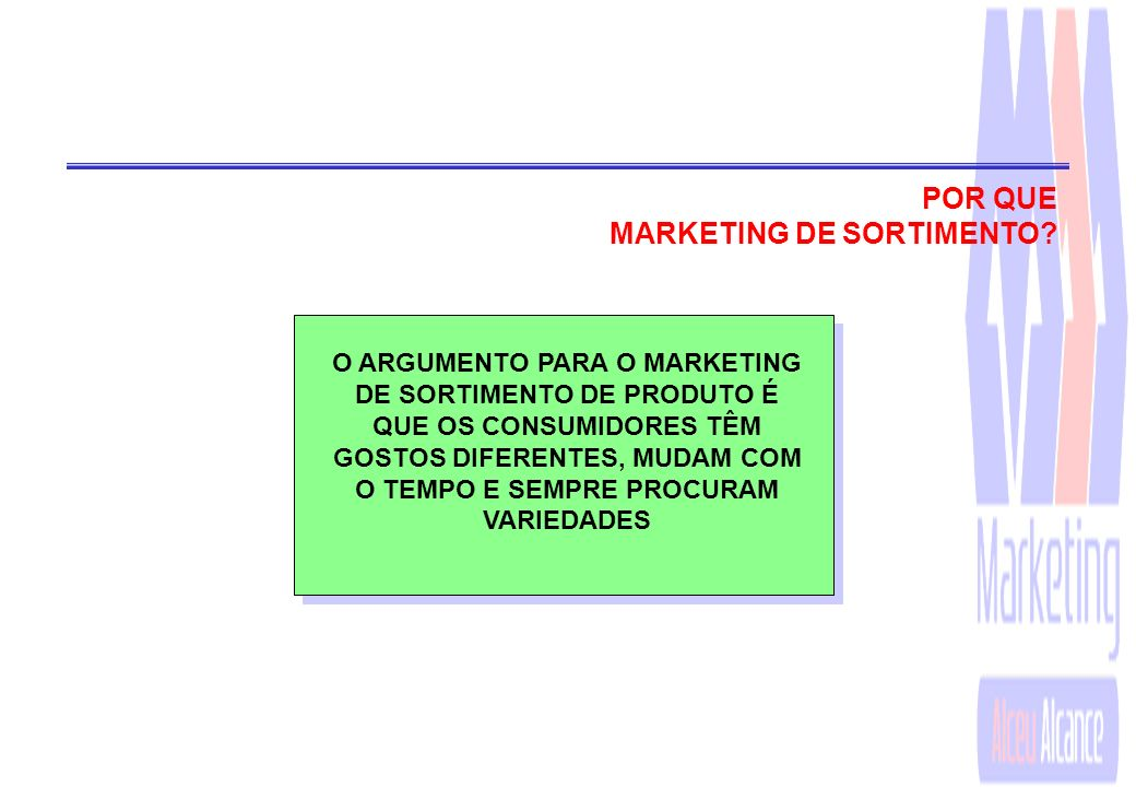 MARKETING DE SORTIMENTO
