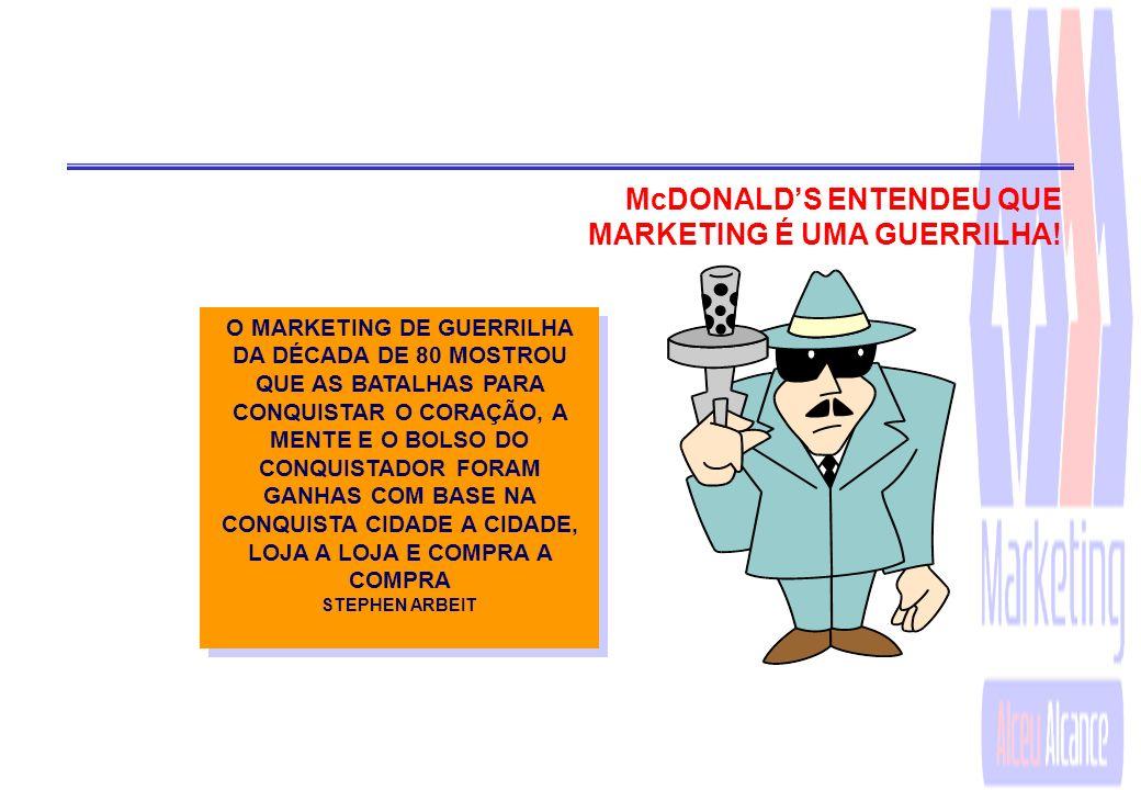 McDONALD'S ENTENDEU QUE MARKETING É UMA GUERRILHA!