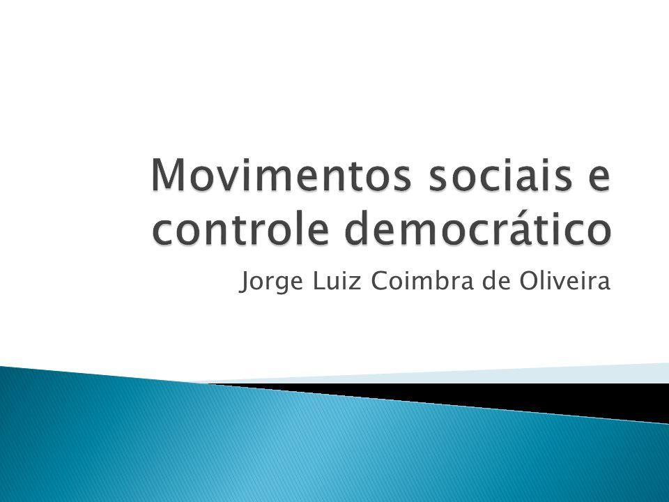 Movimentos sociais e controle democrático