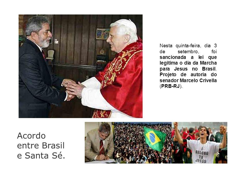 Acordo entre Brasil e Santa Sé.
