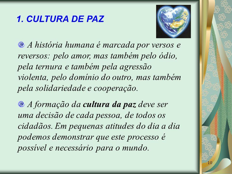 1. CULTURA DE PAZ