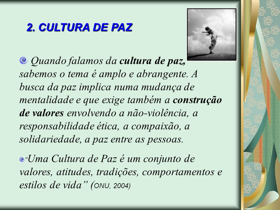 2. CULTURA DE PAZ