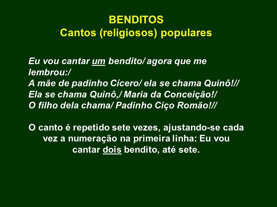 Cantos (religiosos) populares