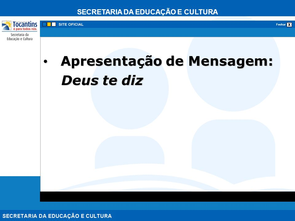 Apresentação de Mensagem: