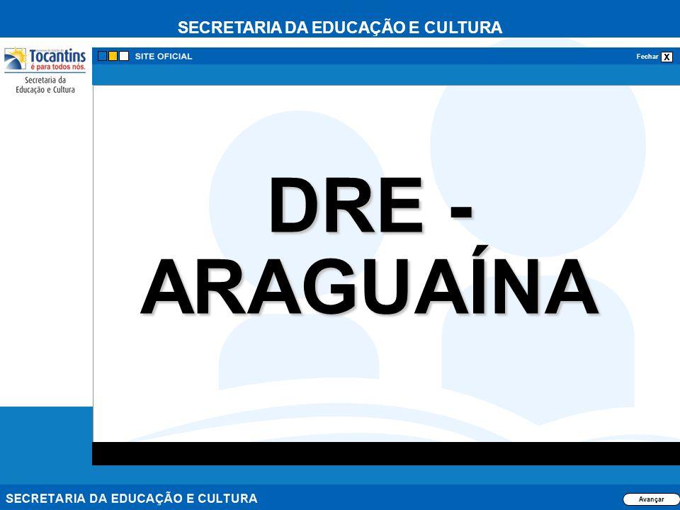26/03/2017 DRE - ARAGUAÍNA Avançar