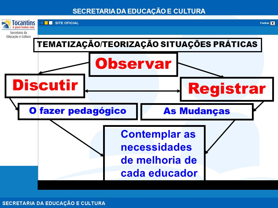 Observar Discutir Registrar