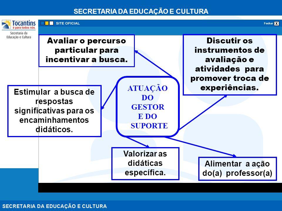 Valorizar as didáticas específica. Alimentar a ação do(a) professor(a)