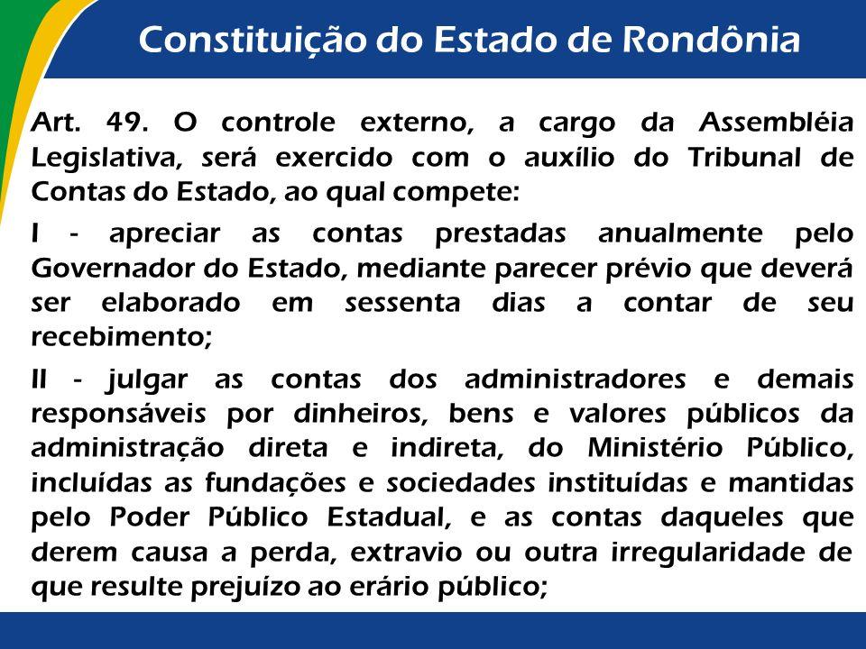 Constituição do Estado de Rondônia