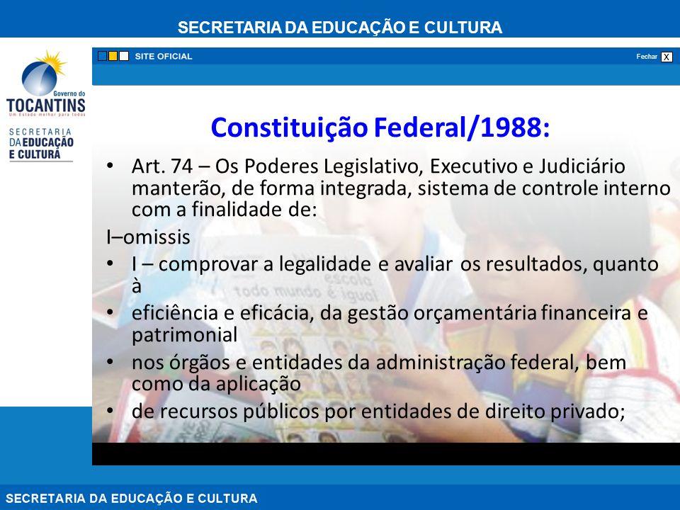 Constituição Federal/1988: