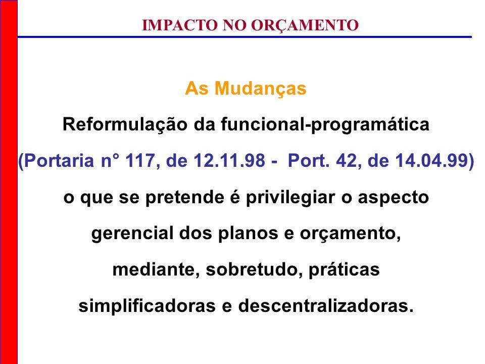 Reformulação da funcional-programática