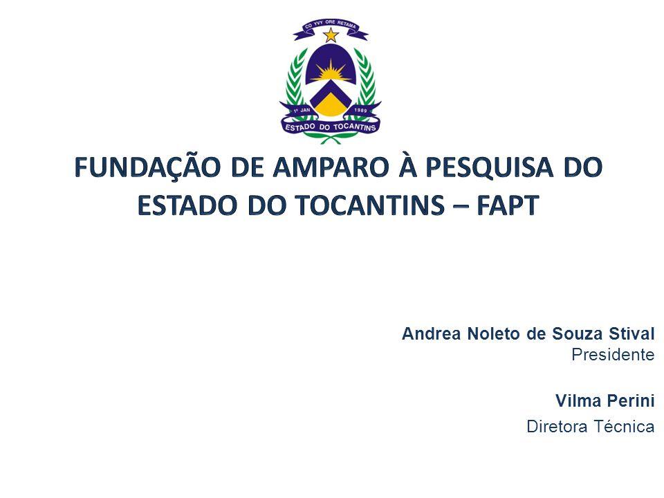FUNDAÇÃO DE AMPARO À PESQUISA DO ESTADO DO TOCANTINS – FAPT