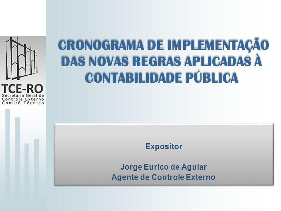 Expositor Jorge Eurico de Aguiar Agente de Controle Externo