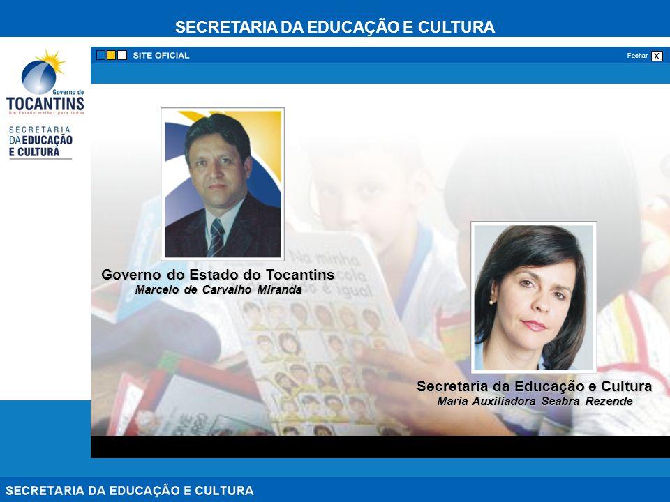 Governo do Estado do Tocantins Secretaria da Educação e Cultura