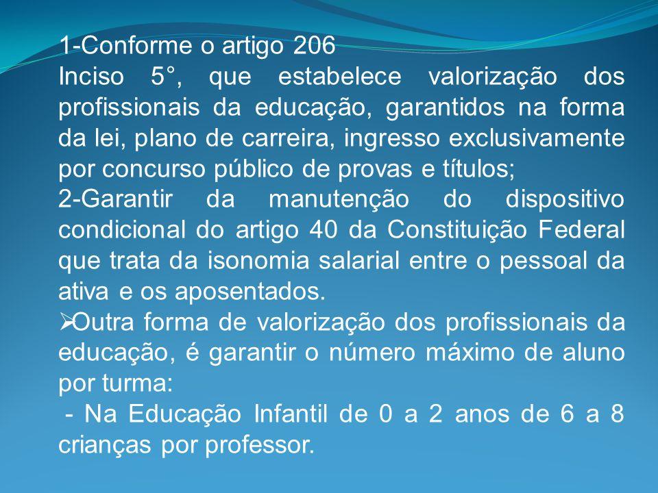 1-Conforme o artigo 206