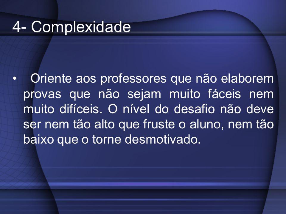 4- Complexidade