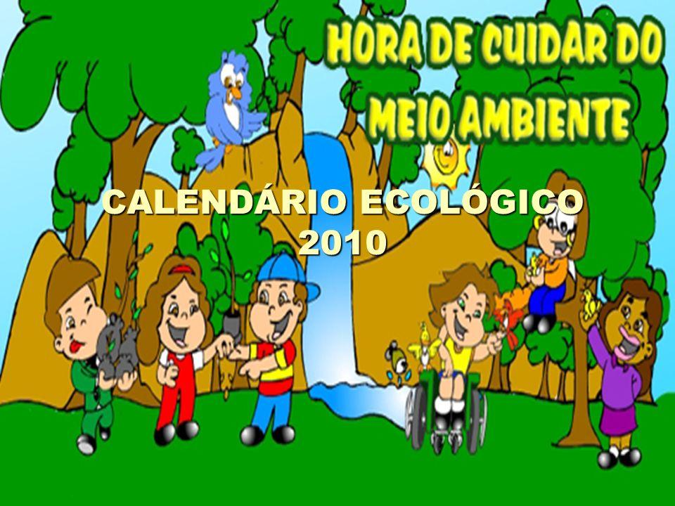 CALENDÁRIO ECOLÓGICO 2010