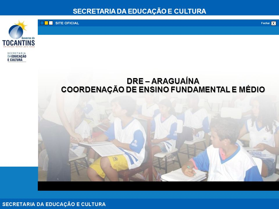 COORDENAÇÃO DE ENSINO FUNDAMENTAL E MÉDIO