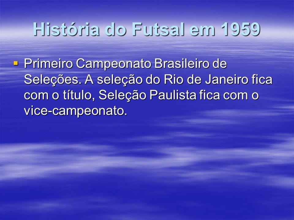 História do Futsal em 1959