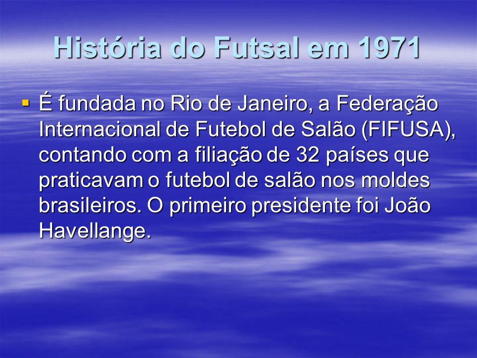 História do Futsal em 1971