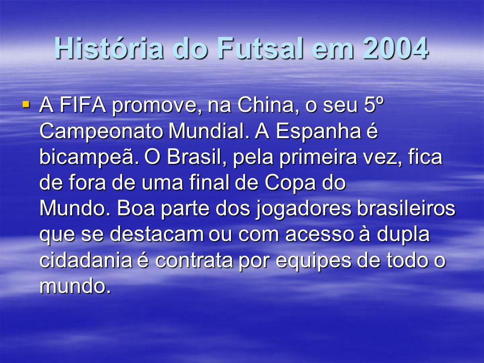 História do Futsal em 2004