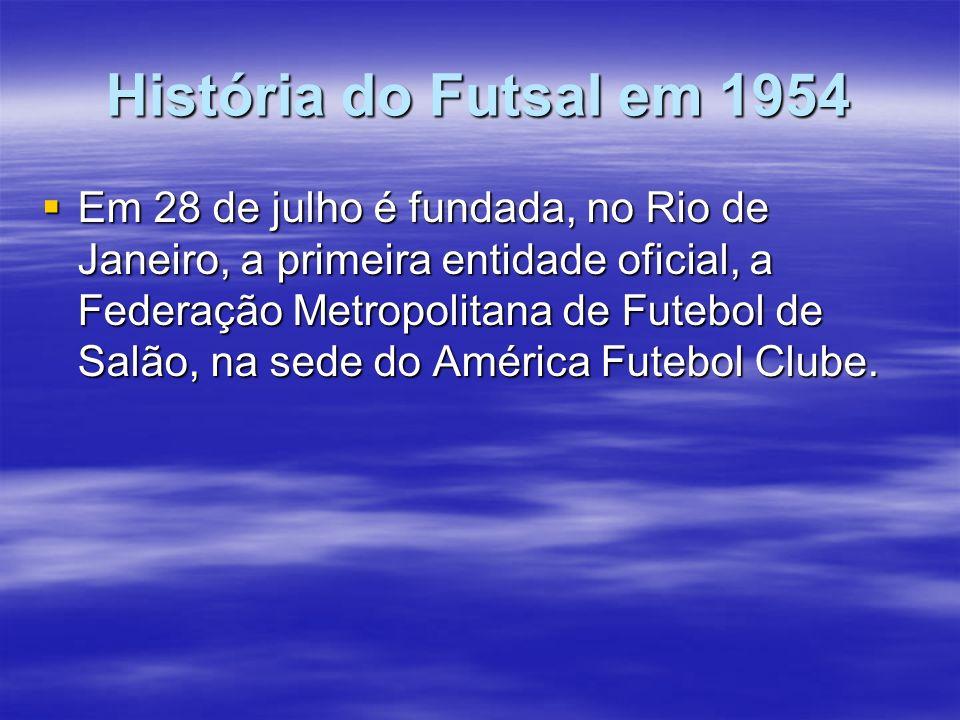 História do Futsal em 1954