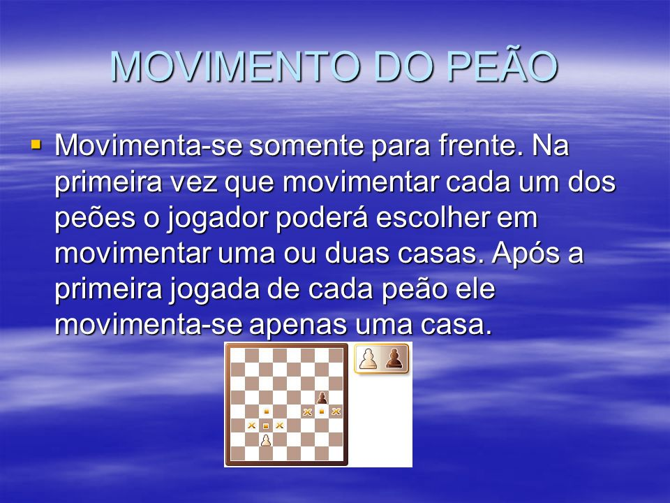 MOVIMENTO DO PEÃO